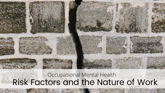 Mental Health Risk Factors